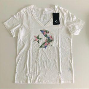 CONVERSE Tropical Flowers T-Shirt